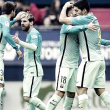 Liga - Tutto semplice per il Barcellona: 3-0 all'Osasuna