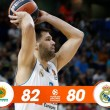 Turkish Airlines Euroleague - Il Panathinaikos inanella la quarta vittoria consecutiva contro il Real Madrid (82-80)
