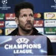 """Champions League, Simeone: """"Siamo in crescita, con grandi margini di miglioramento"""""""