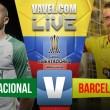 Atlético Nacional vs Barcelona Sporting Club EN VIVO online por Copa Libertadores (0-0)