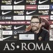 """Roma, Di Francesco: """"Cagliari forte ma noi dobbiamo vincere. Schick potrebbe essere titolare"""""""