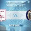 Rosario Central vs Deportivo Morón: el Canalla se mide ante el Gallo para pasar a cuartos