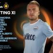 Europa League, le formazioni ufficiali di Lazio-Steaua Bucarest