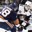 Arizona Coyotes fall to New York Islanders