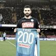 Albiol cumple 200 partidos con el Napoli