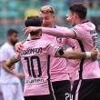 Serie B: urrà Palermo, Coronado (tris) e La Gumina stendono il Carpi. E' 4-0 al Barbera