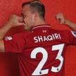 Liverpool seal Xherdan Shaqiri signing
