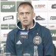 Eduardo Baptista critica elenco do Coritiba após empate em casa