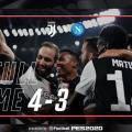 Show allo stadium tra Juventus e Napoli: partita incredibile decisa da un'autorete di Koulibaly ( 4 -3)