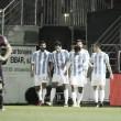 Juanpi y Santa Cruz, los goleadores del Málaga en Eibar