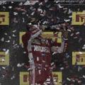 Räikkönen en el podio del GP de Estados Unidos | Fuente: Fórmula 1