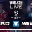 Benfica x Manchester United AO VIVO online na Champions League 2017 (0-0)