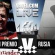 Carrera GP de Rusia 2016 de Formula 1 en vivo hoy