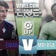 Resultado Eibar vs Málaga en la Liga BBVA 2016: el Málaga asalta Ipurúa (1-2)