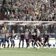 El registro goleador del Tridente ante el Atlético