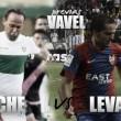 Previa Elche CF- Levante UD: el líder peleará por la victoria en el Martínez Valero