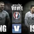 Inglaterra - Islandia: La necesidad por afianzarse como candidata