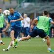 El Real Madrid entrenó en San Siro antes de la final