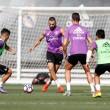 Cristiano Ronaldo y Benzema ya trabajan con el grupo