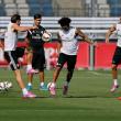 El Real Madrid completó el último entrenamiento sin Cristiano