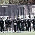 El Barça realiza el último entrenamiento antes de viajar a Sevilla