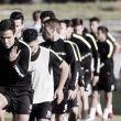 El Málaga, con Tissone reincorporado, se entrena pensando en el Betis