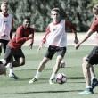 El Almería se centra en el partido ante al Nàstic