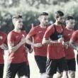 El Almería vuelve al trabajo con la mente puesta en el Alcorcón