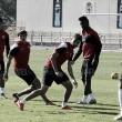 El Almería arranca una nueva semana tras el empate en Bilbao