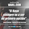 """Entrevista. Adrián Embarba: """"El Rayo siempre va a ser mi primera opción"""""""