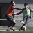 Vuelta a los entrenamientos tras la dura derrota en Villareal