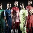 El Almería presenta sus nuevas equipaciones para la temporada 2016/2017