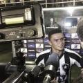 """Erik dedica vitória do Botafogo à esposa e vibra com atuação: """"Dia especial"""""""