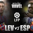 Previa UD Levante - RCD Espanyol: el Levante necesita los tres puntos