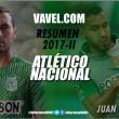 Atlético Nacional Resumen 2017-II: Juan Pablo Nieto, inconsistente y sin marcar diferencia