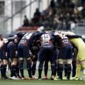 Los futbolistas de la SD Eibar en el choque frente al FC Barcelona, en la J38 de La Liga Santander (FOTO://LaLiga)