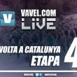 Etapa 4 de la Volta a Catalunya 2017 en vivo: Llívia - Igualada