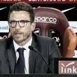 """Roma, Di Francesco e le insidie dell'Udinese: """"Dobbiamo avere lo stesso atteggiamento delle ultime gare"""""""