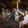 Jane Karla emociona Goiânia conduzindo a tocha dos Jogos Olímpicos Rio 2016