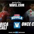 América vs. Once Caldas: los 'escarlatas' quieren resucitar en el Pascual
