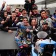 Moto2, Gp del Giappone - Trionfa Marquez nel diluvio nipponico! Morbidelli 8° va a +24 su Lüthi