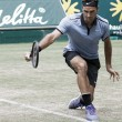 Federer bate Mayer com facilidade e vai às semis em Halle