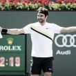 """Federer: """"Tuve suerte, lo normal es que hubiera perdido"""""""