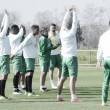La intensidad marca el entreno del jueves del Córdoba C.F
