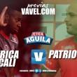 Previa: América - Patriotas: los 'escarlatas' están obligados a obtener su primera victoria como local por Liga