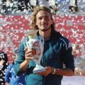 ATP Estoril: Stefanos Tsitsipas dispatches Pablo Cuevas to win the Millennium Estoril Open