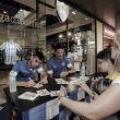 Weligton y Horta firman en el Centro Comercial Vialia
