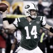 The Indianapolis Colts rout the New York Jets in a blowout