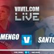 Jogo Flamengo x Santos AO VIVO hoje na Copa do Brasil 2017 (0-0)