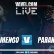 Resultado e gols Paraná x Flamengo pelo Campeonato Brasileiro (0-4)